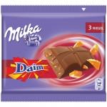 Milka Riegel Daim Multipack 3er