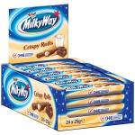 Milky Way Crispy Rolls 24x2er Sparpack