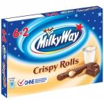 Milky Way Crispy Rolls 6x2er Multipack