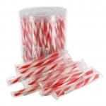 Mini-Zuckerstangen Erdbeere 75er Dose