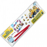 Minions Sweet Liquorices & Sticker Sheet + Funny Frame Sticker