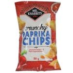 Mr. Knabbits Paprika Chips Klassisch 50g