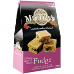 Mrs Tilly's Fudge Rum & Raisin