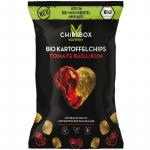 MyChipsBox Bio Kartoffelchips Tomate Basilikum 90g