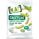 Nature Addicts Cris'Peas Sour Cream & Onion 50g