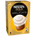 Nescafé Gold Typ Vanilla Latte Portionsbeutel 8er