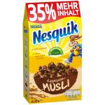 Nestlé Nesquik Knusper-Müsli + 35% mehr Inhalt