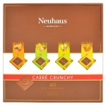 Neuhaus Carré Crunchy Milk Chocolates 40er
