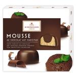 Niederegger Mousse au Chocolat auf Marzipan