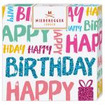 "Niederegger Selection ""Happy Birthday"" weiß 100g"