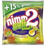 nimm2 Lachgummi soft sauer Maxi Pack + 15% gratis