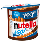 nutella & GO! mit Laugensticks