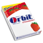 Orbit Strawberry zuckerfrei 5x5er Multipack