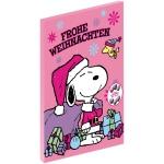 Peanuts Adventskalender Pink