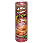 Pringles Dinner Party Edition Sausage & Crispy Bacon 190g