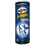 "Pringles Pommes & Ketchup ""Fan-Edition"" FC Schalke 04"