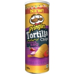 Pringles Tortilla Chips Smokey BBQ