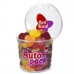 Red Band Fruchtgummi Herzen Autopack
