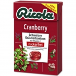 Ricola Cranberry zuckerfrei Box