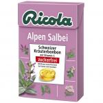 Ricola Alpen Salbei zuckerfrei Box