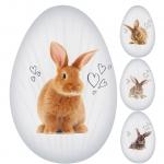 Riegelein Fairtrade Ei mit Hasenmotiven 70g