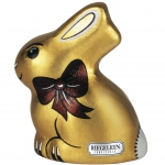 "Riegelein Fairtrade ""Golden Style"" Osterhase 40g"