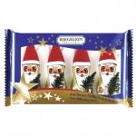Riegelein Weihnachtsmann mit Mütze Fairtrade 4er