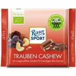 Ritter Sport BIO Trauben Cashew