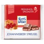 Ritter Sport Frühlings-Spezialität Johannisbeer Streusel 100g