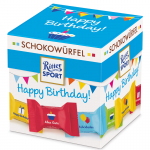 Ritter Sport Schokowürfel Happy Birthday 22er