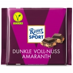 Ritter Sport Dunkle Voll-Nuss Amaranth