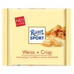 Ritter Sport Weiss + Crisp 250g