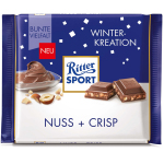 Ritter Sport Winter-Kreation Nuss + Crisp 100g