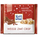 Ritter Sport Winter-Kreation Weisse Zimt Crisp