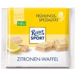 Ritter Sport Frühlings-Spezialität Zitronen-Waffel