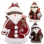 Süßer König Lebkuchen Weihnachtsmann 50g