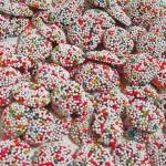 Schluckwerder Schokoladen-Plätzchen mit Nonpareille 3kg