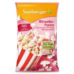 Seeberger Mikrowellen Popcorn süß 100g