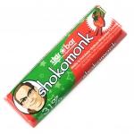 shokomonk starbar Weiße Schokolade Erdbeer Rhabarber Crumble
