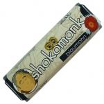shokomonk Weiße Schokolade Blaumohn