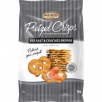 Snyder's Pretzel Crisps Sea Salt & Cracked Pepper