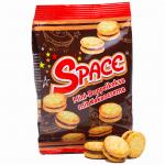 Space Mini-Doppelkekse mit Kakaocreme