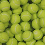 Bubble Gum Sport Ball Tennis 1kg