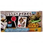 Star Wars Lollipop + 1 Mega Tattoo