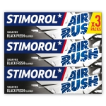 Stimorol Air Rush Menthol Black 3er