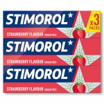 Stimorol Strawberry 3er