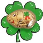 Storz Glücksschwein auf Kleeblatt 75er