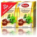 Sulá Minis Kräuter Halsbonbons zuckerfrei Mini-Box 2er