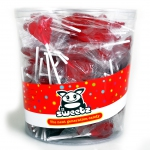 Sweetz Herz Lolly Rot 150er Dose
