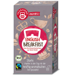 Teekanne Organics English Breakfast 20er